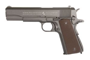 COLT M1911 A1 CO2 FULL METAL SEMI AUTO CYBERGUN BLOWBACK LOURD 1.1 JOULE