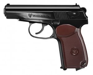 MAKAROV FULL METAL SEMI AUTO CO2 SHOOT UP 1 JOULE