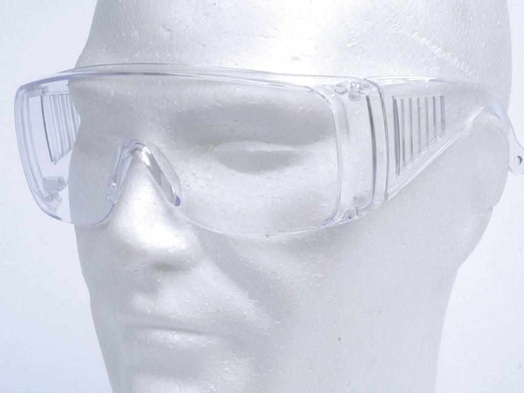 Airsoft et caméras embarquées 603926-lunette-protection-oculaire-blanc-transparent-swiss-arms-cybergun-bil