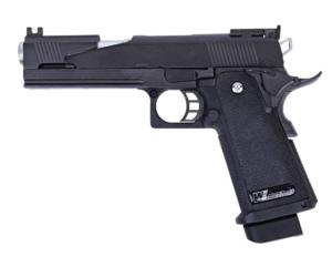 HI CAPA 5.1 WE VERSION A NOIR GAZ BLOWBACK FULL METAL SEMI AUTO 0.9 JOULE
