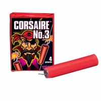 PAQUET DE 4 PETARDS CORSAIRE N°3 WECO TYPE BISON 3