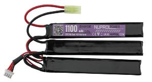 BATTERIE CROSSE CRANE LIFE POWER NUNCHUK LIPO 9.9V 1100 MAH 20C 3 ELEMENTS NUPROL