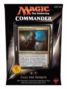 DECK COMMANDER APPEL DES ESPRITS MAGIC THE GATHERING