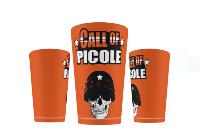 GOBELET / ECOCUP / CUP HUMO CALL OF PICOLE ORANGE 25 CL