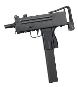 INGRAM MAC 10 AEG SEMI ET FULL AUTO HOP UP 0.4 JOULE