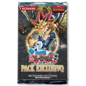 BOOSTER DE 8 CARTES SUPPLEMENTAIRES YU GI OH PACK EXCLUSIVO VERSION ESPAGNOL