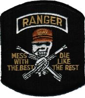 ECUSSON OU PATCH RANGER US MARINES CORPS ARMEE THERMO COLLANT