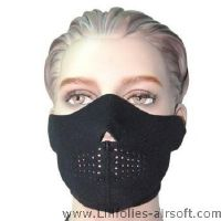 MASQUE DE PROTECTION DEMI NEOPRENE NOIR