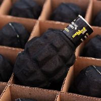 GRENADE A MAIN BILLES D ' AIRSOFT avec son grattoir