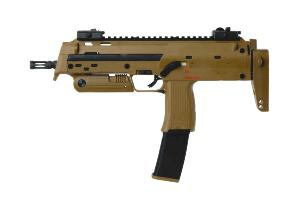 MP7 H&K A1 TAN GAZ SHOOT UP SEMI ET FULL AUTO BLOWBACK 1 JOULE