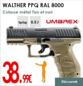 WALTHER PPQ RAL 8000