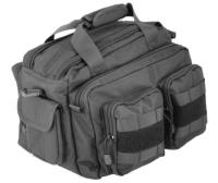 SAC DE TIR / DE TRANSPORT / DE RANGEMENT NYLON 1000D NOIR GRAND VOLUME 38 X 28 X 23 CM LANCER TACTICAL