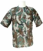 BODY ARMOR / TEE SHIRT TACTIQUE PARE BILLES CAMO WOODLAND SWAP TAILLE S / M