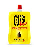BOISSON EN GOURDE AUTO CHAUFFANTE WARM UP POCKET 100 ML - DOUBLE EXPRESSO SUCRE