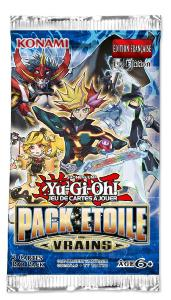 BOOSTER DE 3 CARTES SUPPLEMENTAIRES YU GI OH PACK ETOILE VRAINS