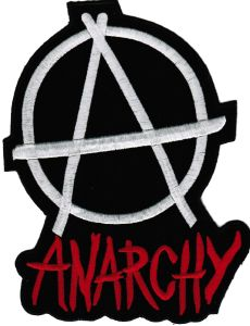 ECUSSON OU PATCH ANARCHY BRODE THERMO COLLANT GEANT
