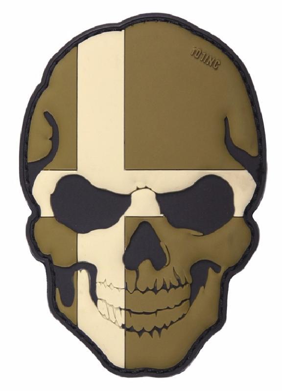 Patch écusson skull tête de mort Punisher patch thermocollant