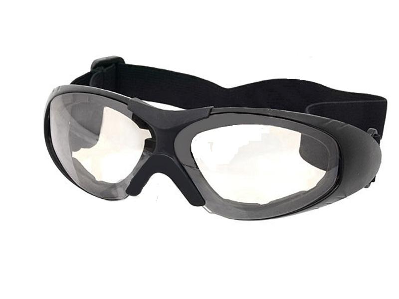 lunette masque protection oculaire blanc elastiquee. Black Bedroom Furniture Sets. Home Design Ideas