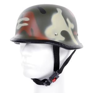 CASQUE DE PROTECTION ALLEMAND CAMOUFLAGE WOODLAND HELMET T.L