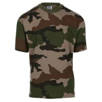 TEE SHIRT CAMOUFLAGE ARMEE FRANCAISE COL ROND ET MANCHES COURTES 101 INC