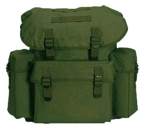 SAC A DOS / BESACE 25 LITRES VERT OLIVE