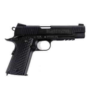 BLACKWATER BW1911 R2 CO2 BLOWBACK FULL METAL NOIR 1.4 JOULE SEMI AUTO 4.5 MM AIRGUN