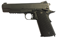 PISTOLET AIRGUN SA1911 MILTARY NOIR SWISS ARMS CO2 BLOWBACK FULL METAL 1.6 JOULE SEMI AUTO 4.5 MM