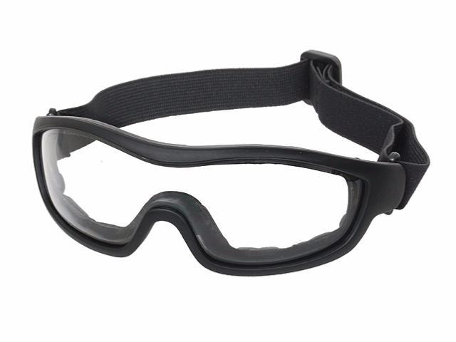 Bd2452 lunette masque protection fa02 oculaire ecran blanc big dragon elastique airsoft - Lunette protection ecran ...