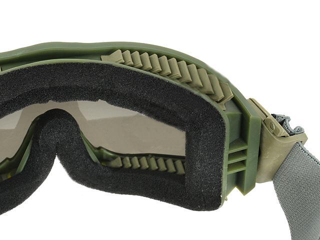 bd2502 lunette masque protection razor olive kaki ecrans. Black Bedroom Furniture Sets. Home Design Ideas