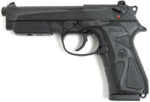 PACK BERETTA 90 TWO SPRING NOIR UMAREX 0.5 JOULE  + 5 CIBLES HUMAINE SPECIAL POLICE 50X70