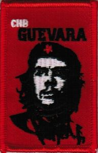 ECUSSON OU PATCH CHE GUEVARA BRODE THERMO COLLANT