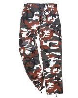 PANTALON US RANGER TYPE BDU RED CAMO TAILLE M