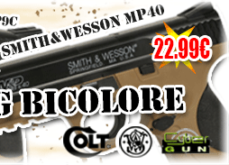 REPLIQUE-SPRING-BILLE-AIRSOFT-PISTOLET-SNIPER-CYBERGUN-SMITH-ET-WESSON-MP40