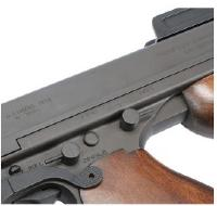 THOMPSON M1928 M 1928 CHICAGO AEG VERSION NOIR ET BOIS 1.5 JOULE LIVRE SANS BATTERIE