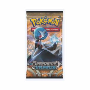 1 PAQUET DE 10 CARTES BOOSTER SUPPLEMENTAIRES POKEMON XY11 OFFENSIVE VAPEUR A COLLECTIONNER