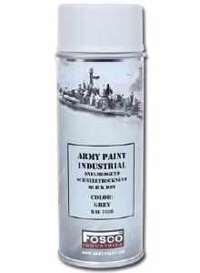 BOMBE DE PEINTURE MILITAIRE SPRAY FOSCO 400 ML GREY GRIS