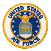ECUSSON / PATCH UNITED STATES AIR FORCE THERMO COLLANT AIRSOFT