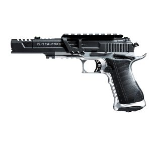 ELITE FORCE RACE GUN FULL METAL CO2 BLOW BACK HOP UP AVEC RAILS 1.5 JOULE