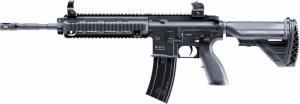 REPLIQUE FUSIL A BILLE H&K HK416D FULL METAL NOIR AEG 1 JOULE FULL AUTOMATIQUE