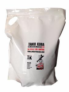 BIG BAG DE 5KG DE BILLES BIODEGRADABLES BLANCHES TANIO KOBA 0.25G