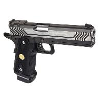 HI CAPA 5.1 VERSION M1 NOIR FULL METAL GAZ BLOWBACK HOP UP RAIL 0.9 JOULE