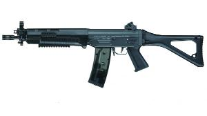 SIG 551 SWAT ICS AEG FULL METAL 1.1 JOULE + BATTERIE 1100 MH +SON CHARGEUR