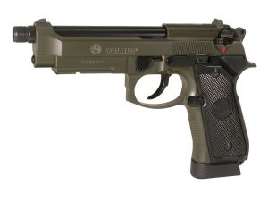 TAURUS PT92 KAKI CO2 FULL METAL SYSTEME BLOW BACK SPIN UP 0.8 JOULE