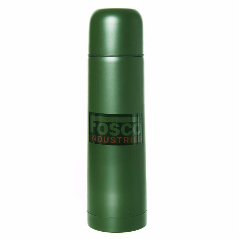 bouteille thermos isotherme acier vert kaki 0 5 litre 50 cl fosco 469506 randonnee balade airsoft. Black Bedroom Furniture Sets. Home Design Ideas
