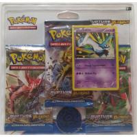 PACK 3 BOOSTERS RUPTURE TURBO AVEC UNE CARTE LATIOS ET UNE PIECE POKEMON
