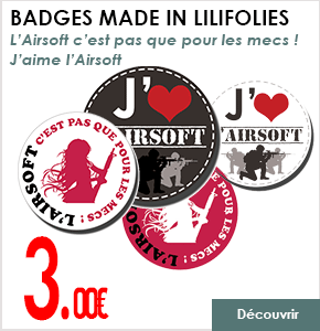 BADGES AIRSOFT LILIFOLIES