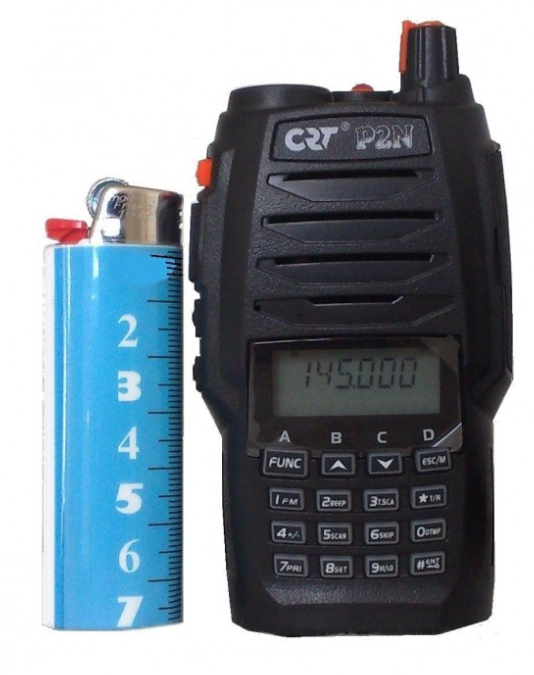 RADIO PORTABLE VHF CRT P2N VERSION COM RADIO 136 - 174 MHz