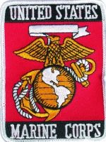 ECUSSON / PATCH US UNITED STATES MARINE CORPS THERMO COLLANT