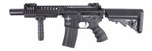 M4 VIS CQB ELITE KING ARMS AEG NOIR FULL METAL SEMI ET FULL AUTO 1.4JOULE SANS BAT NI CHARG