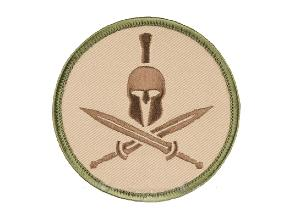 PATCH / ECUSSON TISSU VELCRO SPARTAN HELMET MC MSM
